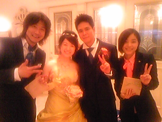 お幸せにo(^-^o)(o^-^)o_e0002794_371277.jpg