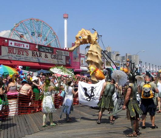 マーメード・パレード Mermaid Parade 2008_b0007805_2055999.jpg