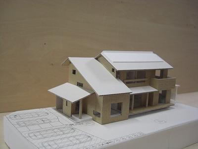 「東浦町生路の家」 模型_f0059988_9534247.jpg