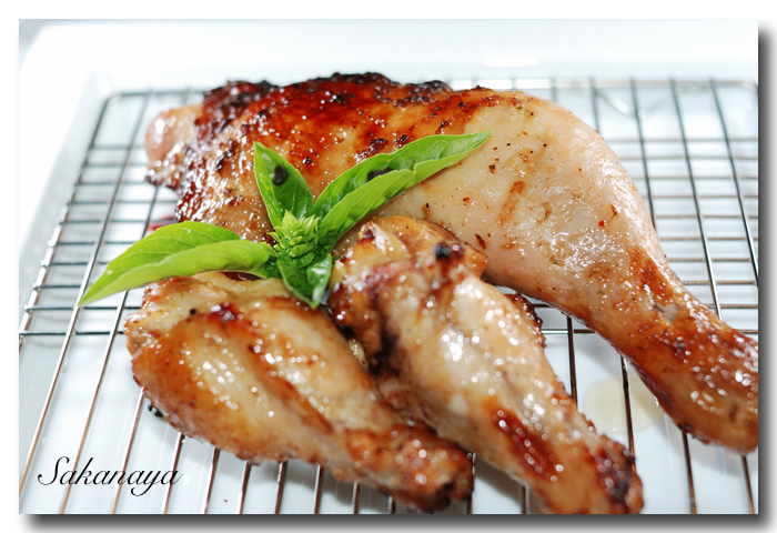 ジャークチキン :Jerk Chicken :ジューシーなチキン!めちゃウマ ☆_d0069838_13302577.jpg