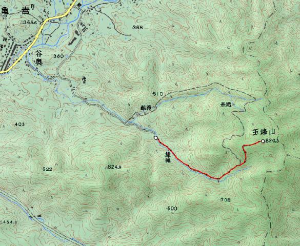 早朝ハイキング『玉峰山」 参加6名_d0007657_12572312.jpg