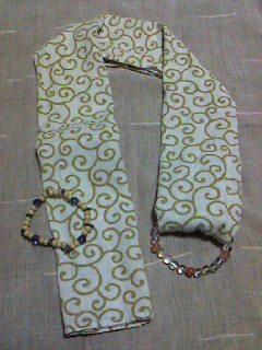 手ぬぐいスカーフの作り方/ My scarf_d0090888_2223064.jpg