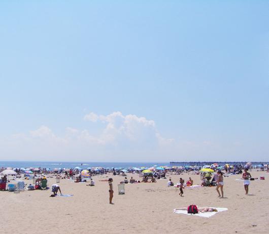 コニー・アイランドのビーチ_b0007805_624555.jpg