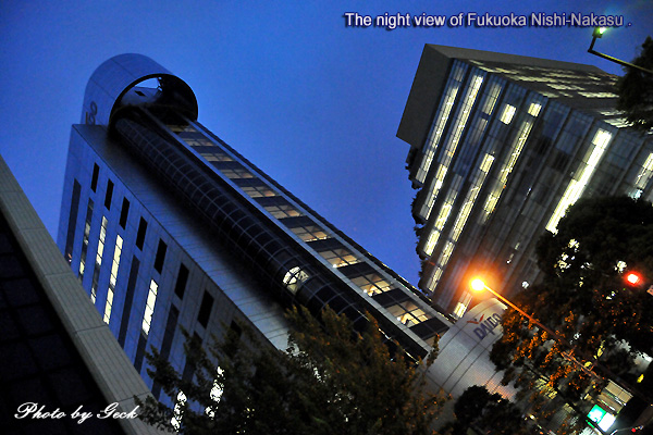FUKUOKA 街角の風景 博多と福岡をむすぶ西中洲の夜 ~★_d0147591_16593063.jpg