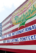 Nathan\'s Famous Hot Dogs(ネイサンズ)本店_b0007805_118037.jpg