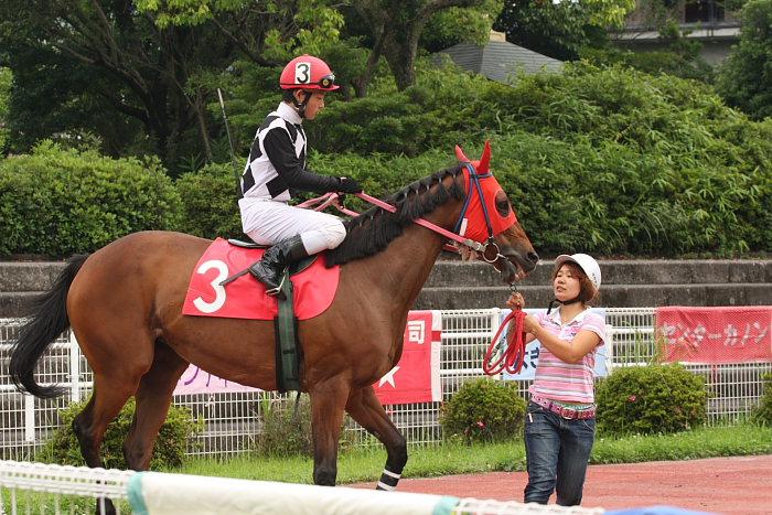 2008年6月22日(日) 高知競馬 1R_a0077663_918662.jpg