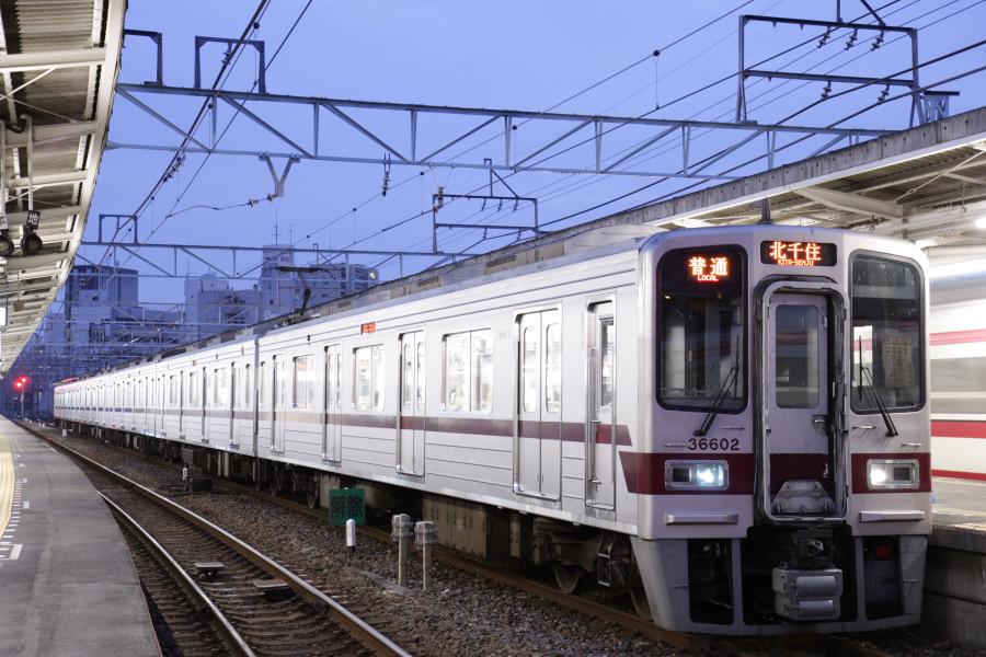 2007 9 24 東武伊勢崎線30000系 ...
