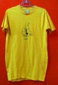 70年代 all cotton サム UP Tシャツ! 染み込みプリント_c0144020_15231781.jpg