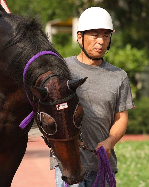 2008年6月29日(日) 高知競馬 10R 極暑特別 パドック_a0077663_19351068.jpg
