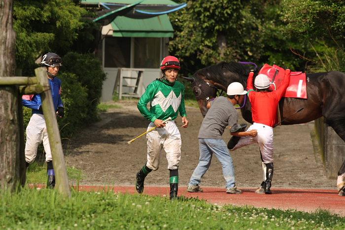 2008年6月29日(日) 高知競馬 10R 極暑特別 パドック_a0077663_19352250.jpg