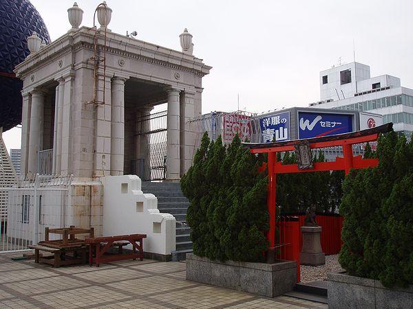 南海ビルディング(高島屋大阪店+南海電気鉄道難波駅)_f0139570_22541462.jpg