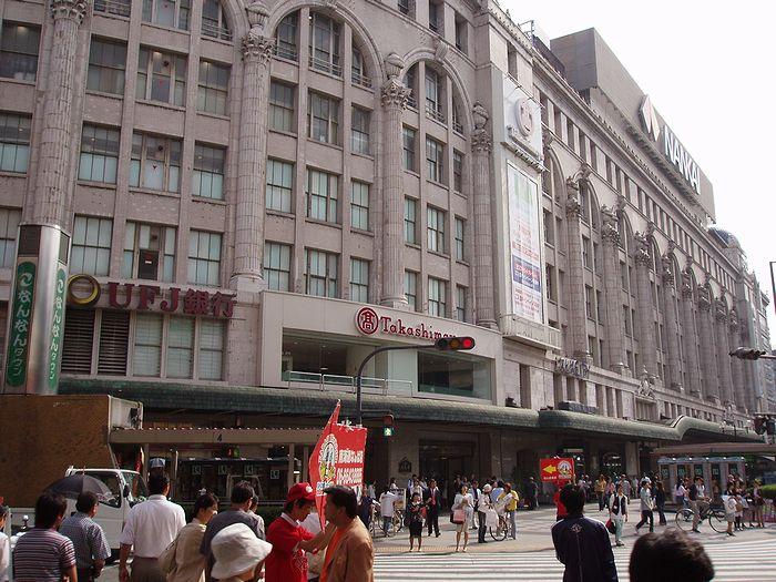 南海ビルディング(高島屋大阪店+南海電気鉄道難波駅)_f0139570_2305077.jpg