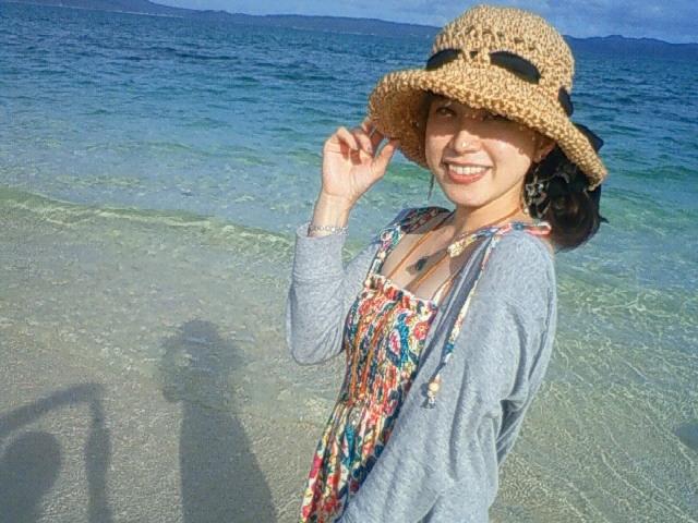 沖縄の風景 by ケータイ 古宇利島の麻夢衣ちゃん_f0024992_7315859.jpg