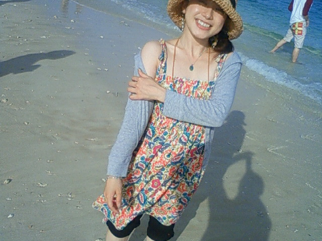 沖縄の風景 by ケータイ 古宇利島の麻夢衣ちゃん_f0024992_7315879.jpg