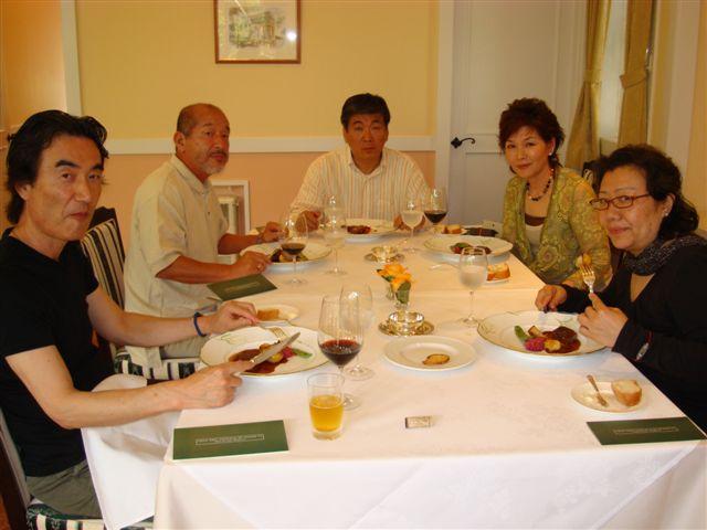 軽井沢、友人の別荘へ_d0148223_11443873.jpg