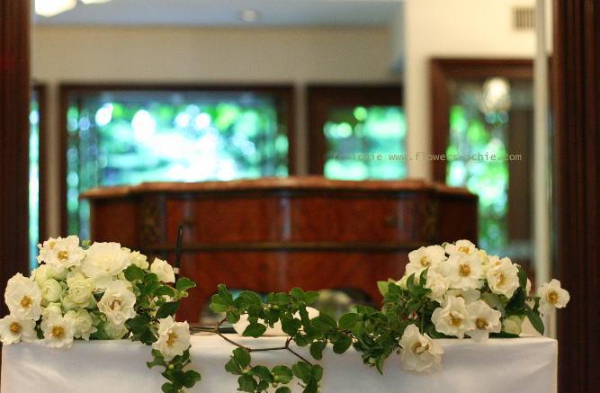 シェ松尾松濤レストラン様の装花 6月に 結婚式の花_a0042928_2152158.jpg