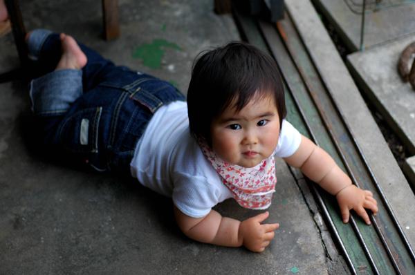 赤ちゃんとsajilo !_b0140723_3381080.jpg