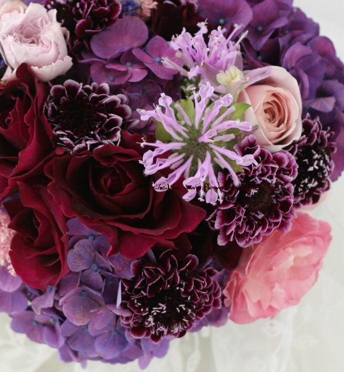 ブーケ 深い紫  そうだ、・・・・_a0042928_22272434.jpg