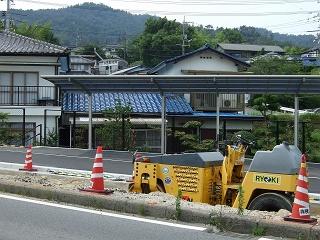 熊野町平谷交差点拡張工事、なかなか進まず_b0095061_11473824.jpg