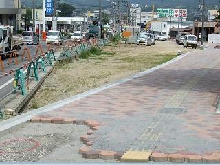 熊野町平谷交差点拡張工事、なかなか進まず_b0095061_11474412.jpg