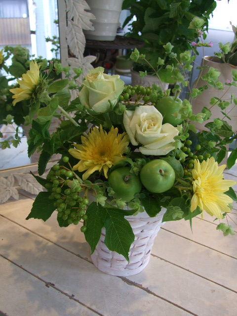 オークリーフ花の教室(山田さんの作品)_f0049672_14173218.jpg