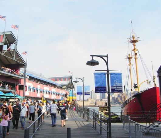 子連れニューヨーク観光スポット South Street Seaport_b0007805_1415861.jpg