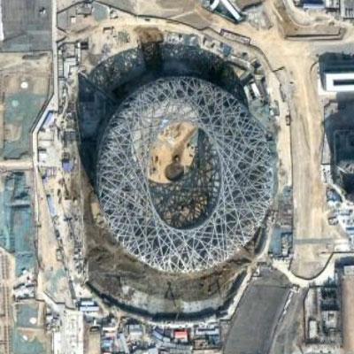 北京オリンピック 鳥の巣 建築家ヘルツォーグ&ド・ムーロン_f0165030_15571115.jpg