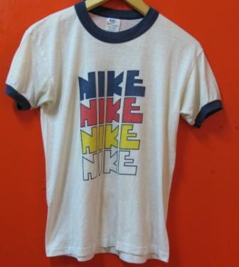 7月6日(日)入荷!70年代ビンテージ 4連 NIKE  Tシャツ_c0144020_1913235.jpg
