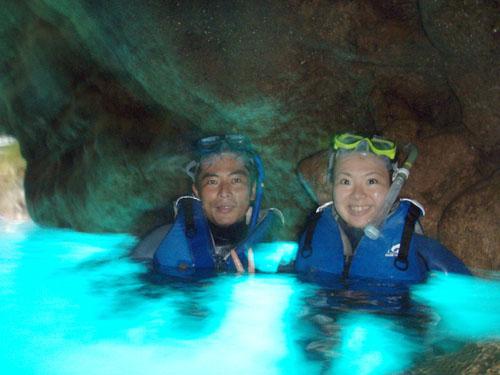 7月6日青の洞窟の一日でした。_c0070933_22524395.jpg