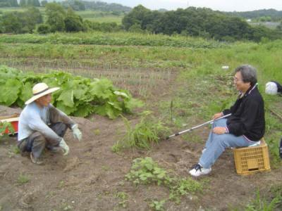 7月6日「せせらぎ農園」訪問_e0007558_2126454.jpg