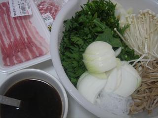 豚肉すき焼き_c0025217_1205616.jpg
