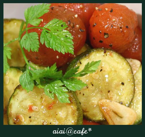 プチトマトとズッキーニのマリネ_a0056451_130448.jpg