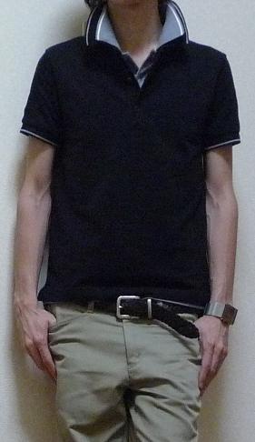 d0146758_1735346.jpg ○無印良品:ポロシャツ ...