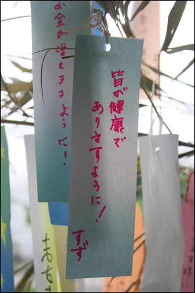 短冊の願い_f0100215_033489.jpg