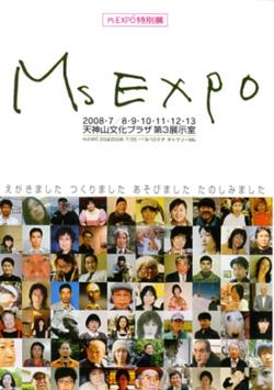 Ms EXPO特別展〜えがきました つくりました あそびました たのしみました。_a0017350_21515997.jpg