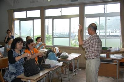 H20年7月度「大人の林間学校」:水産技術センター見学_c0108460_20145120.jpg