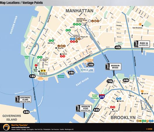 ニューヨークの港に巨大な滝のアート出現 New York City Waterfalls_b0007805_113847.jpg