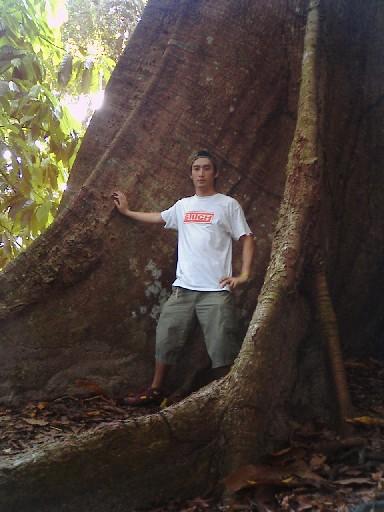 ◎ 赤道アマゾンのジャングルにて_b0032617_5201272.jpg
