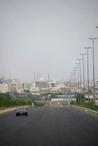 サウジアラビア (33) メディナと預言者モスク_c0011649_1401460.jpg