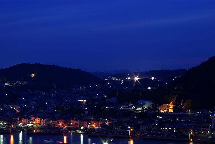 浄土寺VS西国寺の夕暮れ_c0152379_6222682.jpg