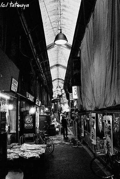 Jul . 11 (fri)   天王寺駅前商店街 -1-_f0139991_2227469.jpg