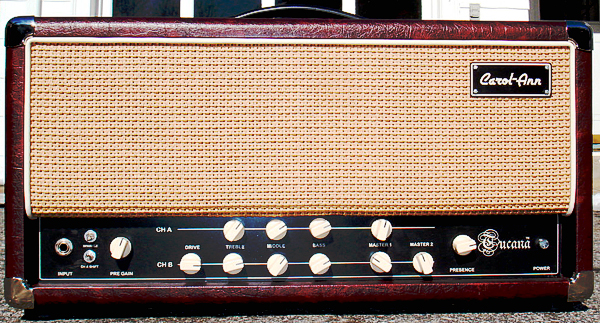 「Carol-Ann Custom Amplifiers」の「Tucana」。_e0053731_18303794.jpg