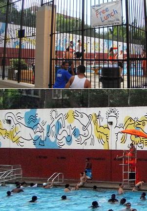 キース・へリングさんの壁画つき市民プール_b0007805_2154990.jpg