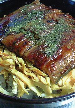 鰻丼(7/12)、豚肉ニラだれ(7/13)♪_f0116812_845209.jpg