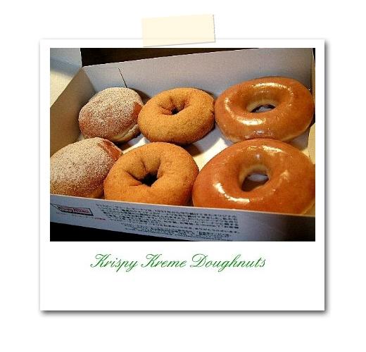 Krispy Kream DOUGHNUTS。_b0157216_23104285.jpg