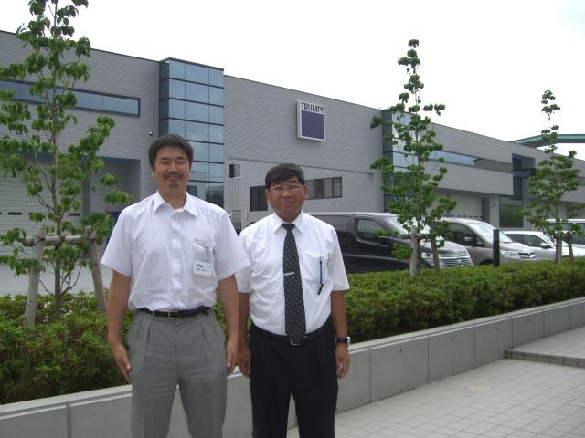 トルンプ社 福島工場見学_d0085634_9454619.jpg
