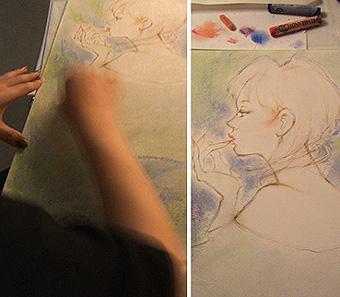 * 描きました。_e0106552_22262076.jpg