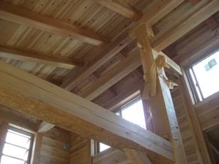 5寸の梁桁の家 構造見学会 2日目_c0124828_11202443.jpg