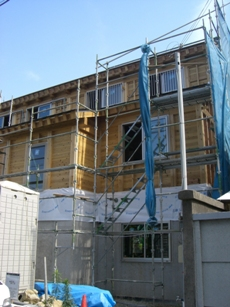 5寸の梁桁の家 構造見学会 2日目_c0124828_1121333.jpg