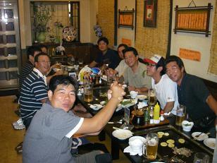★RFC夏・飲み会!ラッシーさん歓送会★_e0147297_8475764.jpg
